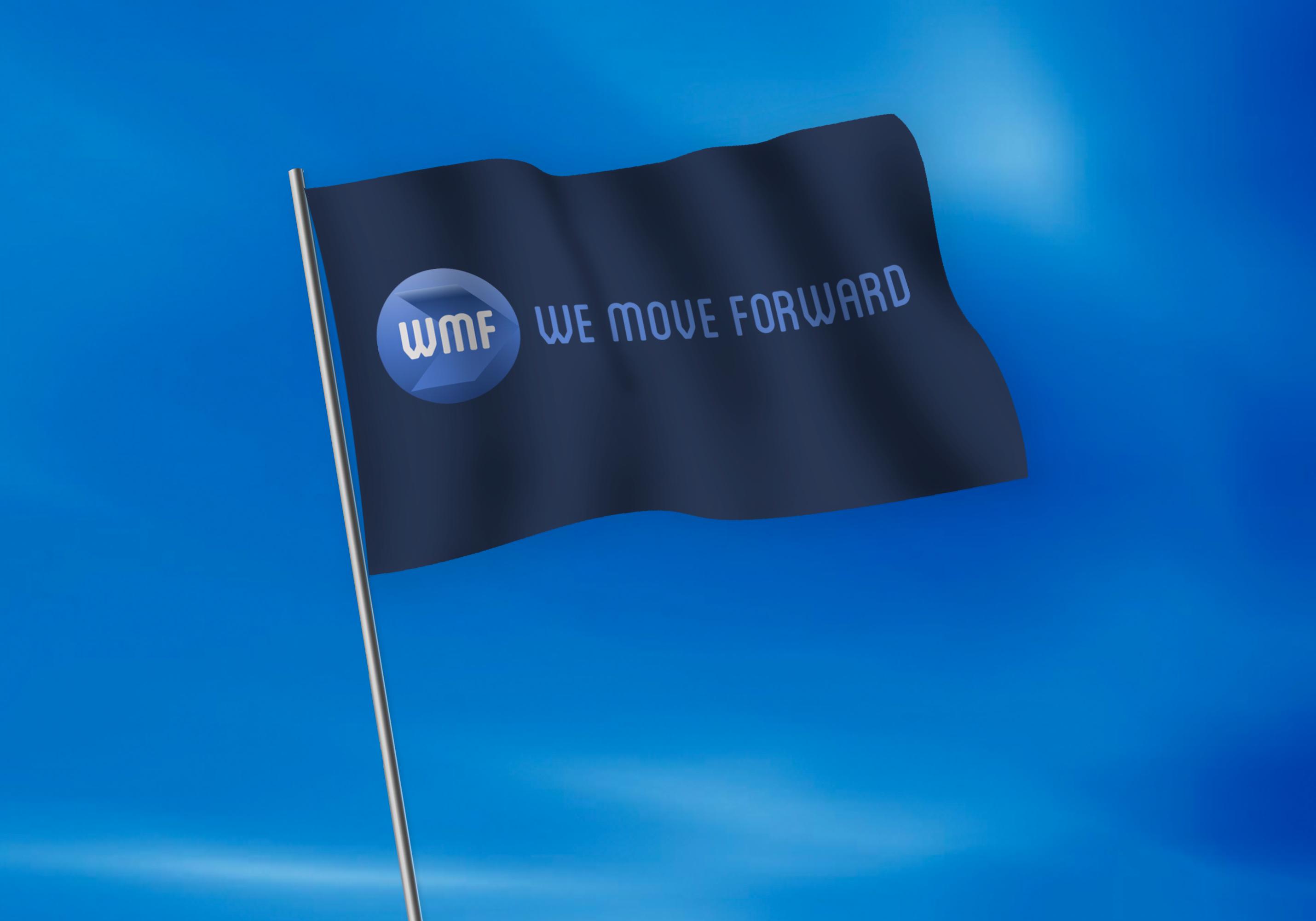 Flag Mockup WMF